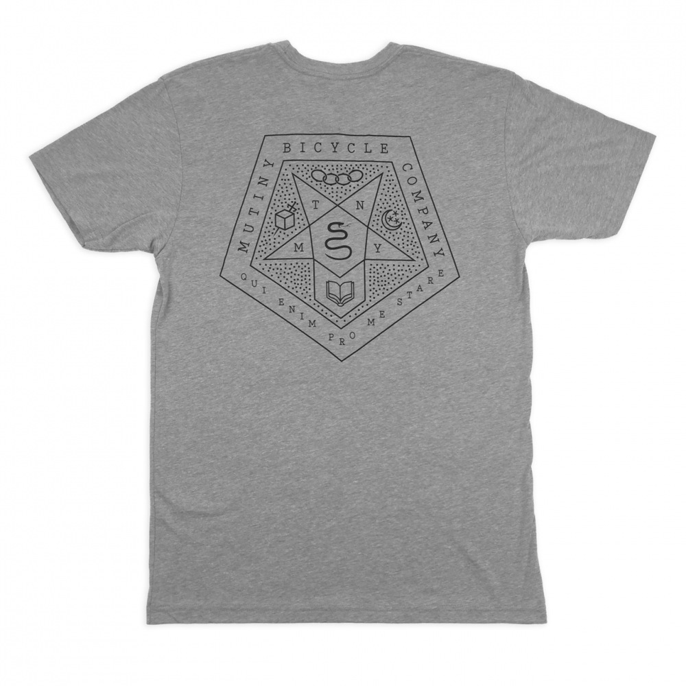 Mutiny new master t shirt dark heather grey for Fast delivery custom t shirts