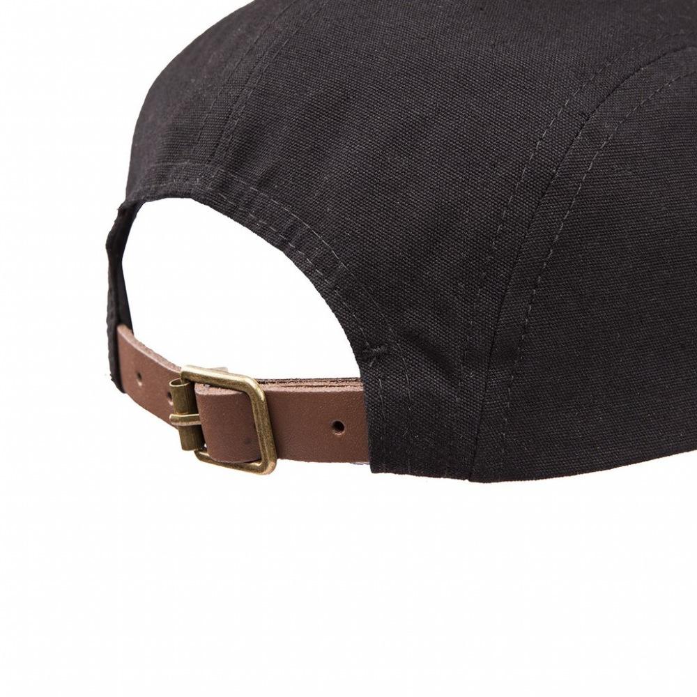 1f464175123 United REBORN Patch 5 Panel Cap Black Tan