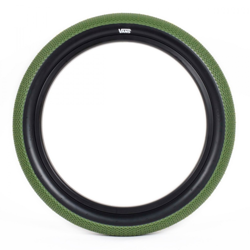 24f32c4a6a9 Cult VANS Tyre Olive Green  Black Wall