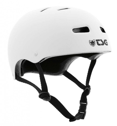 TSG SKATE/BMX Injected Color Helmet White