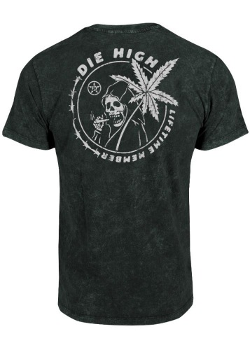 Unit DIE HIGH T-Shirt Black