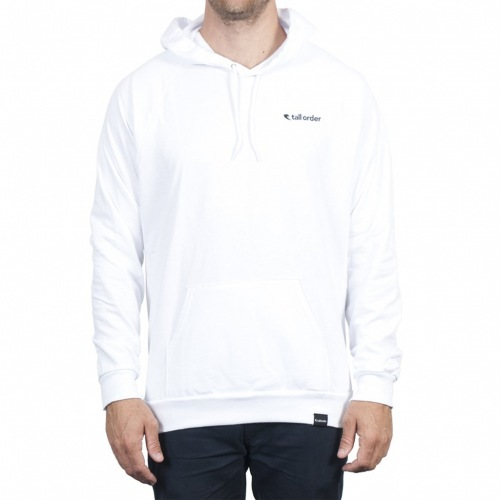 Tall Order LOGO HOODED Sweatshirt White