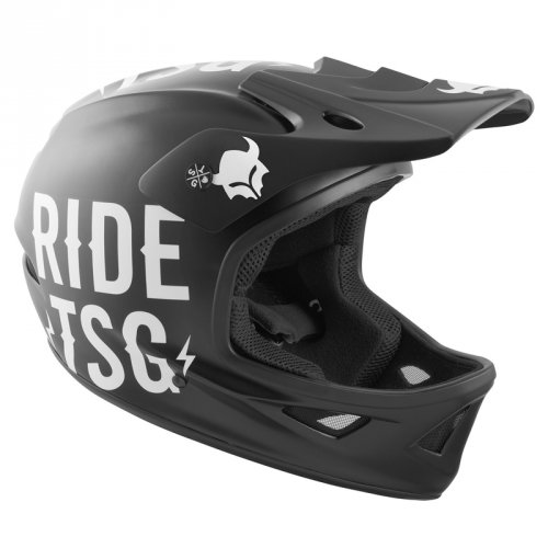 TSG SQUAD Helmet Graphic Design Chopper Black