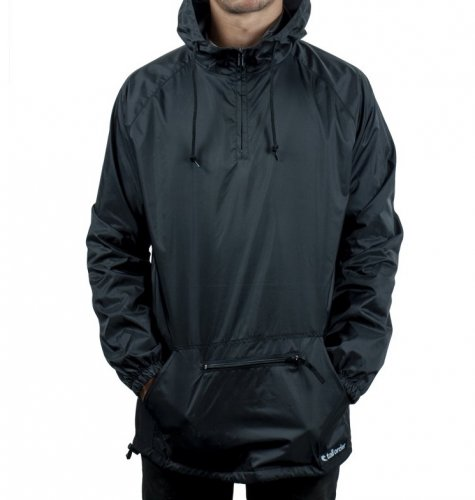 Tall Order PATCH LOGO ANORAK Jacket Black