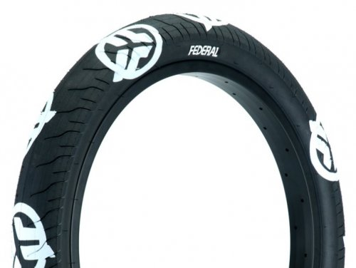 Federal COMMAND LP Tyre Black White Logos