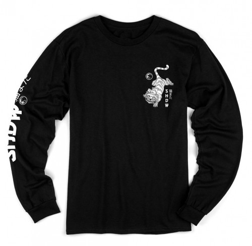 Triko Shadow NEKOMATA L/S Black