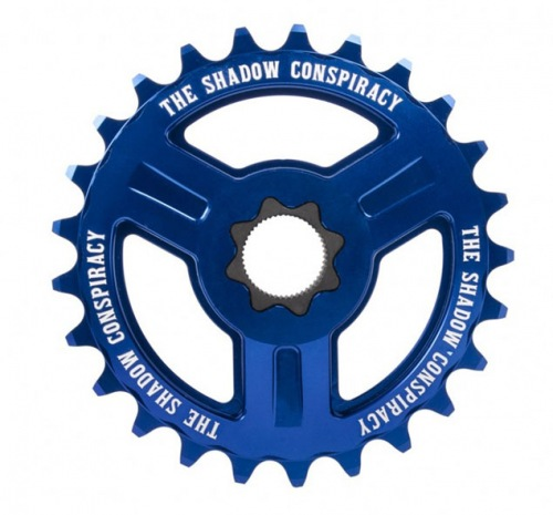 Shadow MOTUS Spline Drive 22mm Sprocket Blue