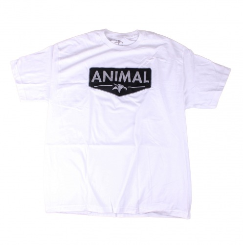Animal EMBLEM T-Shirt White