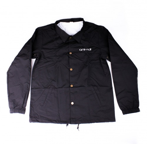 Animal RAMOS Windbreaker Jacket Black