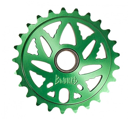 Banned BUDSAW Sprocket Green