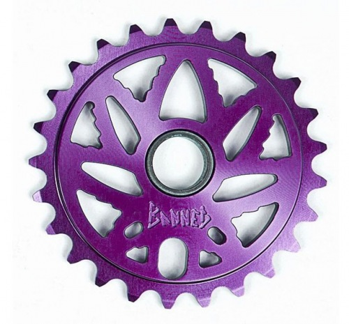Banned BUDSAW Sprocket Purple