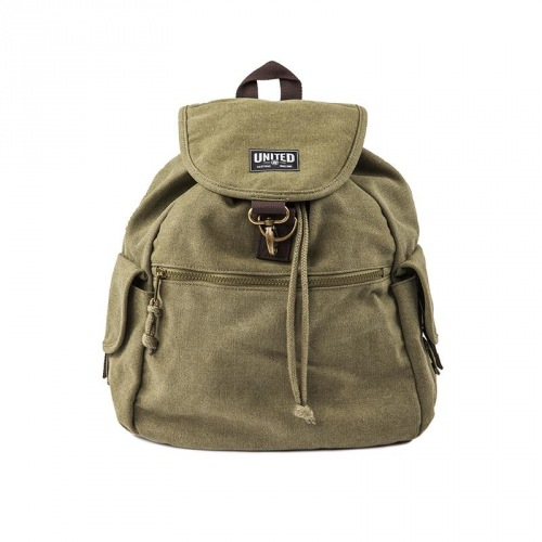 United CANVAS Backpack Nato Green