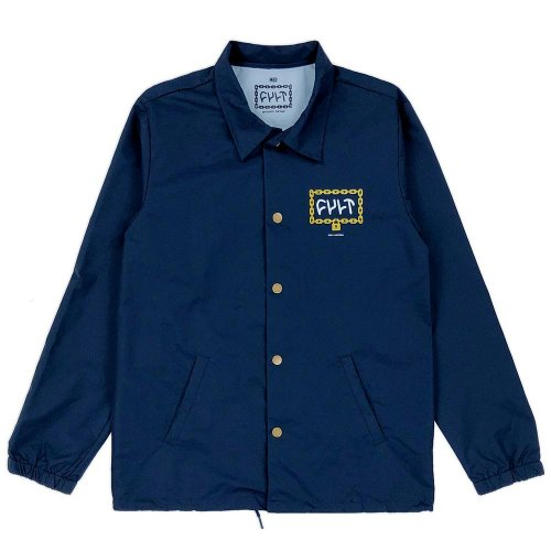 Cult THROW AWAY THE KEY Jacket Navy Blue