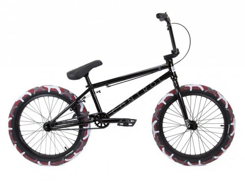 Cult 2020 CONTROL Black/ Red Camo Tires