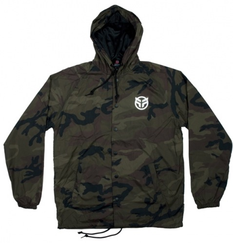 Federal LOGO Hooded Windbreaker Camo