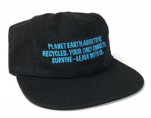 Cult RECYCLED 6 Panel Hat Black