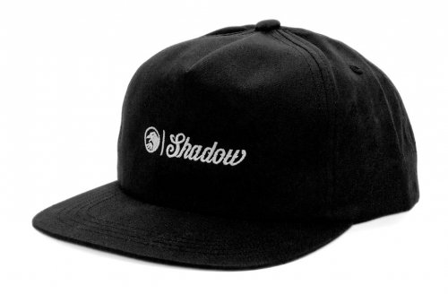 Shadow BLOCK Snapback Black