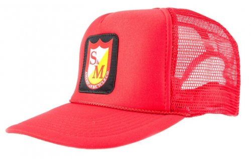 S&M PATCH Trucker Red