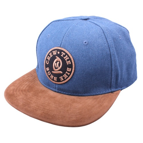 Thebikebros BASEBALL Snapback Denim Blue