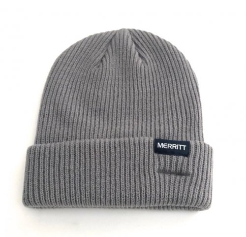 Merritt Electric Steel Grey Beanie
