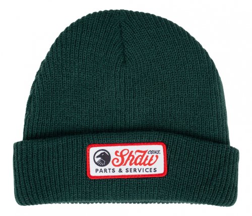 Shadow MECHANIC Beanie Dark Green