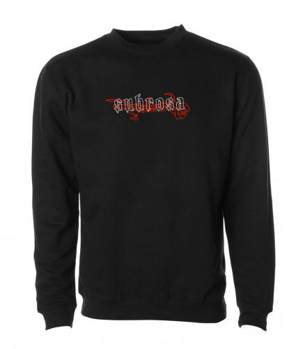 Subrosa KNIFE FIGHT CREW Sweatshirt Black