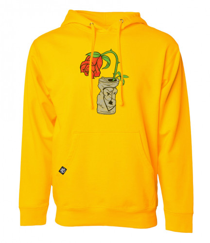 Subrosa TRASHED CAN Hoodie Gold