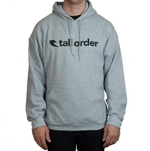 Tall Order FONT Hoodie Grey