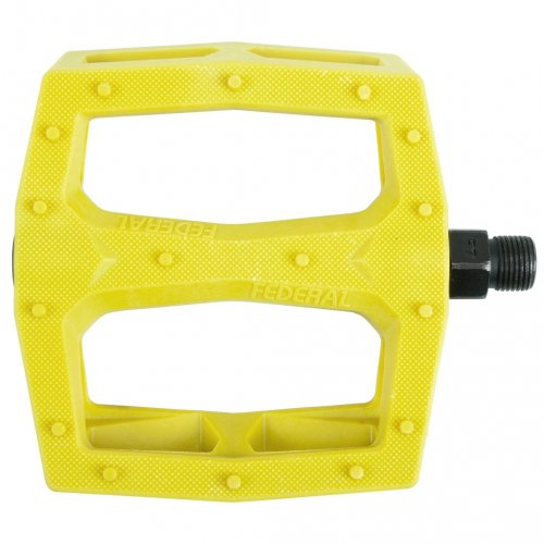Federal COMMAND Pedals Plastic Yellow