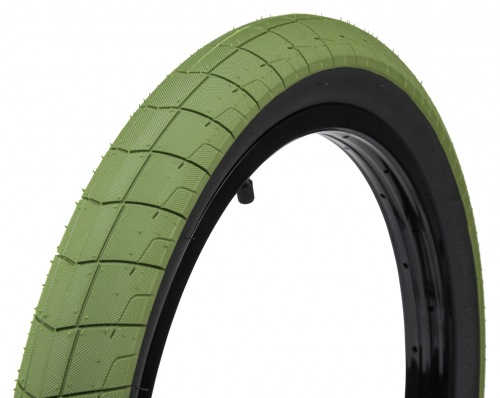 Éclat FIREBALL Tyre Army Green/ Black Wall