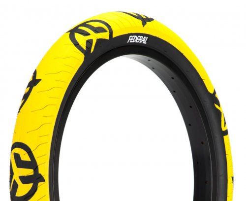 Federal COMMAND LP Tyre Yellow Black Logos