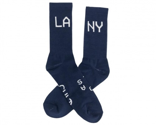 Cult COAST 2 Socks Navy Blue/White