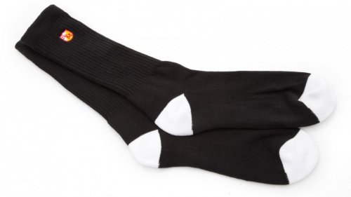 S&M BLOCK Socks Black/ White