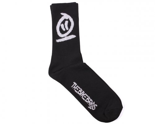 Thebikebros LOGO Socks Black/White