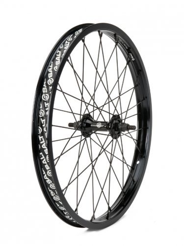 "Salt ROOKIE 16"" Front Wheel Black"