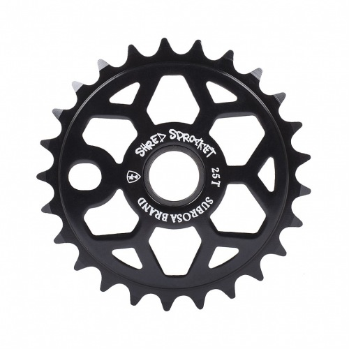 Subrosa SHRED Sprocket Matte Black
