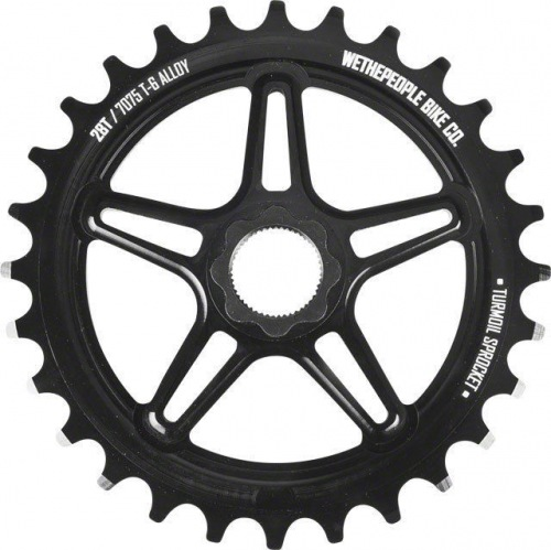 Wethepeople TURMOIL Spline drive Sprocket Black