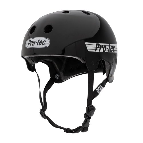 Pro-Tec OLD SCHOOL Helmet Gloss Black