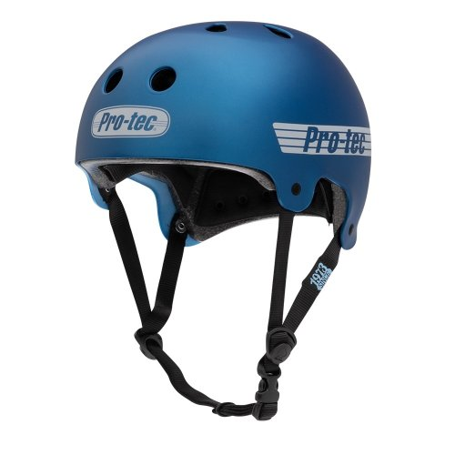 Pro-Tec OLD SCHOOL Helmet Matte Metallic Blue