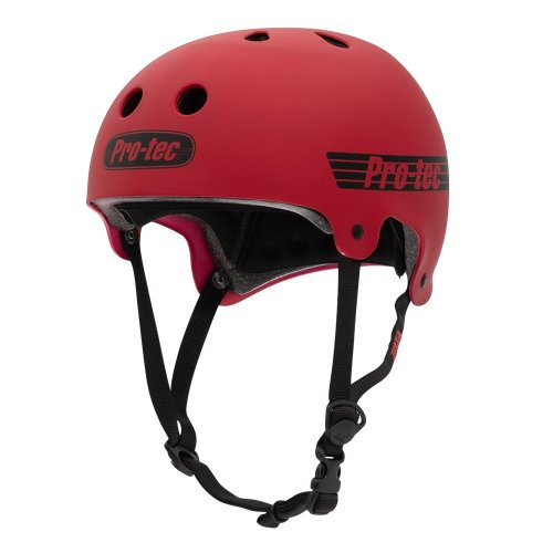 Pro-Tec OLD SCHOOL Helmet Matte Red