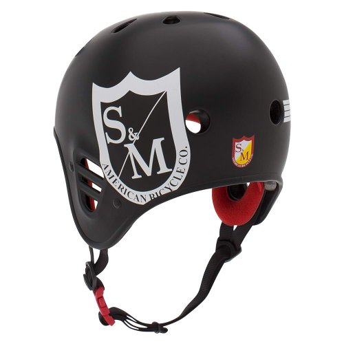 Pro-Tec S&M Full Cut Helmet Matt Black