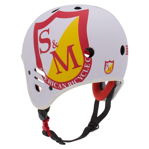 Pro-Tec S&M Full Cut Helmet Matt White