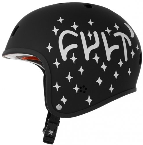 S1 X CULT RETRO Helmet Black