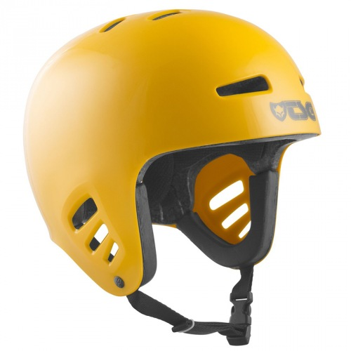 TSG DAWN Solid Color Helmet Mustard