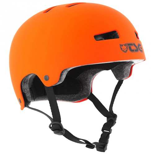 TSG EVOLUTION HELMET Solid Color Satin Orange