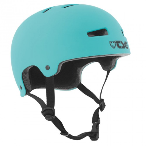 TSG EVOLUTION HELMET Solid Color Satin Petrol