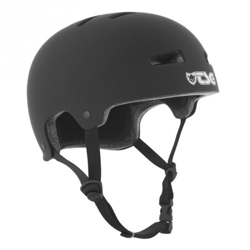 TSG EVOLUTION Youth Solid Color Helmet Black