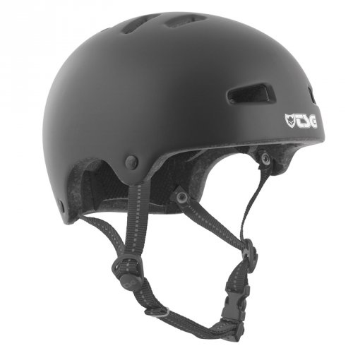 TSG NIPPER MAXI Helmet Solid Color Black