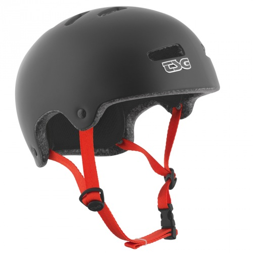 TSG SUPERLIGHT HELMET Solid Color Satin Black
