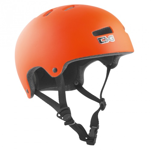 TSG SUPERLIGHT HELMET Solid Color Satin Orange